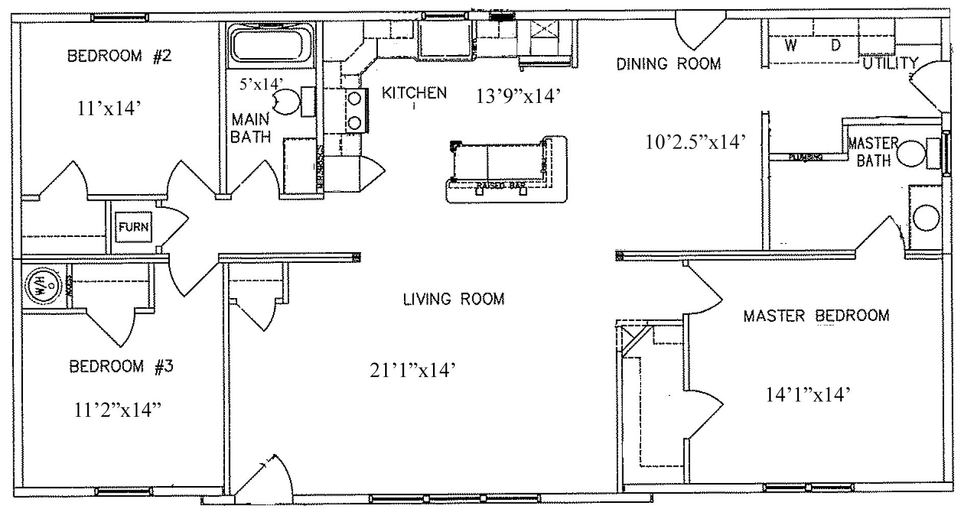 1350 Sq Ft Home Plans